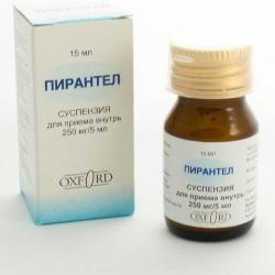 Как принимать Пирантел в таблетках - дозировка взрослым