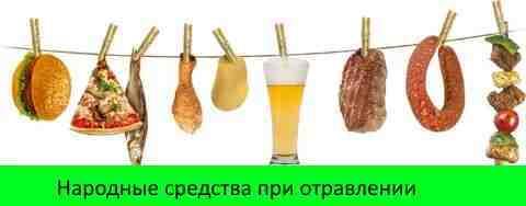 Отравление пищей: симптомы и лечение, народные средства, лекарства
